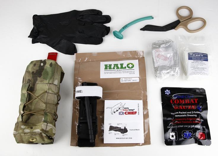 IFAK / Med Kit Component List - Shooting Strategies