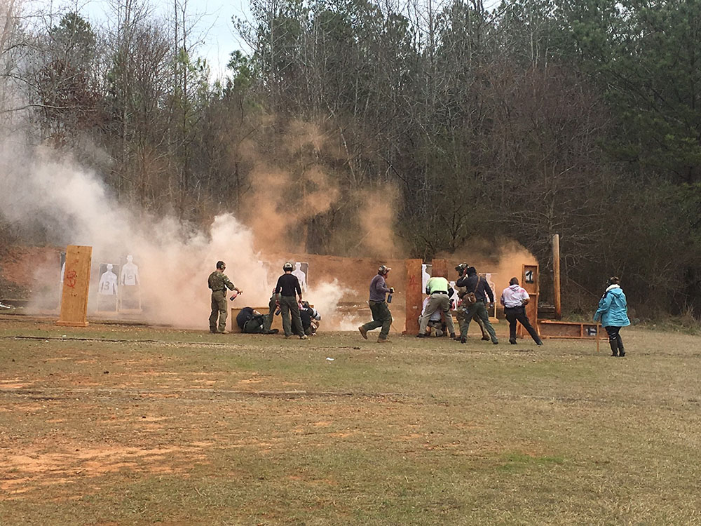 firearm training smoke
