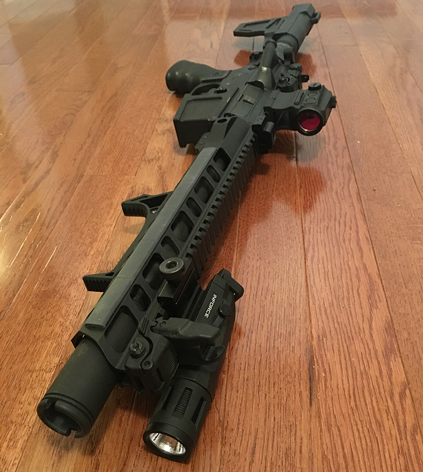 Folding AR-15 Pistol - ULTIMATE TRUCK GUN - Shooting Strategies
